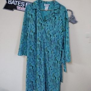 Dani Max Vintage style dress with tie. Size 16M